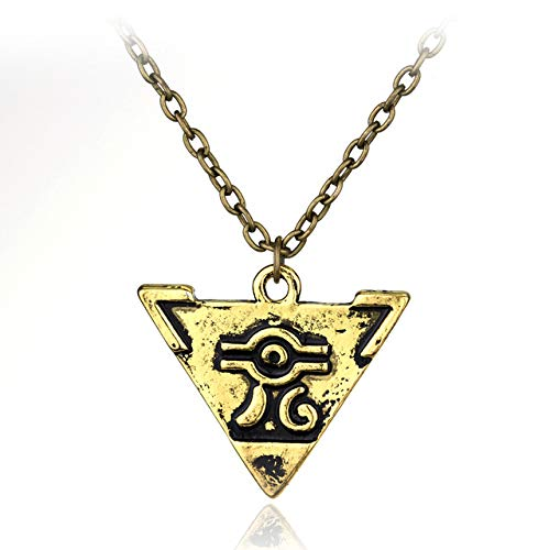 FITIONS - Anime Yu-Gi-Oh YGO Millenium Puzzle YuGiOh Yugi Millennium Pendant Necklace Link Chain Women Men Game Jewelry-30