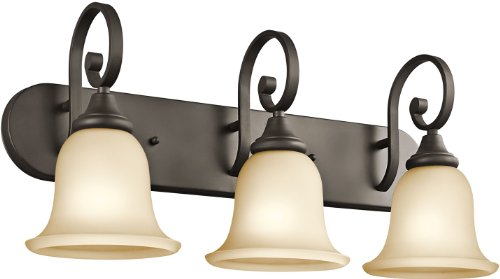 Kichler  45055OZ Three Light - Umber Light 3 Vanity