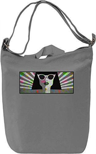 70's Gal Borsa Giornaliera Canvas Canvas Day Bag| 100% Premium Cotton Canvas| DTG Printing|