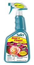 Safer Brand Rose & Flower Organic Insect Killing Soap  32 Ounce Spray 5130