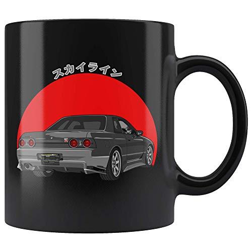 Nissan Skyline R32 GTR Godzilla JDM Coffee Mug -