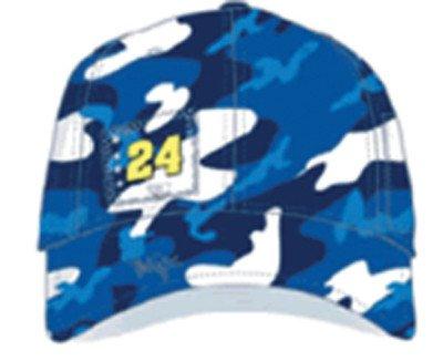 NASCAR Jeff Gordon #24 DuPont Chase All Over Camo Print Ladies Cap ()