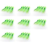 8 x Quantity of Heli-Max 1SQ Transparent Clear Green Propeller Blades Props Rotor Set 55mm Factory Units