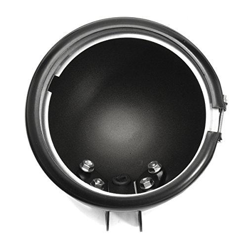 - Yoton Motorcycle Lights 5.75 inch LED Daymaker Headlight Housing Mount Brackets Black For Harley Davidson 2004-2014