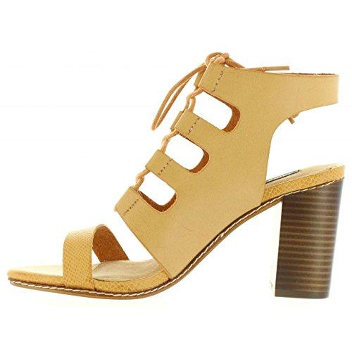 Sandali Per Donna Mtng 53785 I268 Pincel Camel