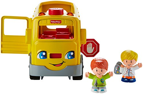 41BX9dg62xL - Fisher-Price Little People Sit with Me School Bus Vehicle