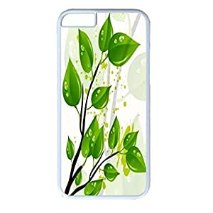 Plant Vector Design PC White Case for Iphone 6 Grow up