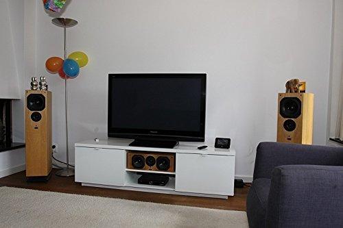 e83bc86a217 Amazon.com  Ikea Byas Tv Unit High Gloss White Modern  Home Audio   Theater