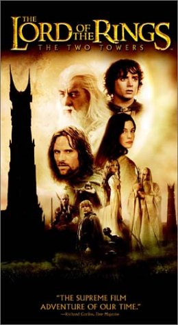 The Lord of the Rings - The Two Towers [VHS] (Lord Rings Vhs The Trilogy Of)