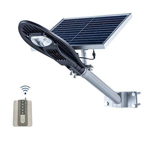 SHANGBOYI LED Solar Street Light, 15W Waterproof IP65, 2000 Lumen LED Solar Panel Road Lamp with Lithium Battery for Suburban, Home, Outdoor, 6000K(Black) [並行輸入品] B07RBRZPHM
