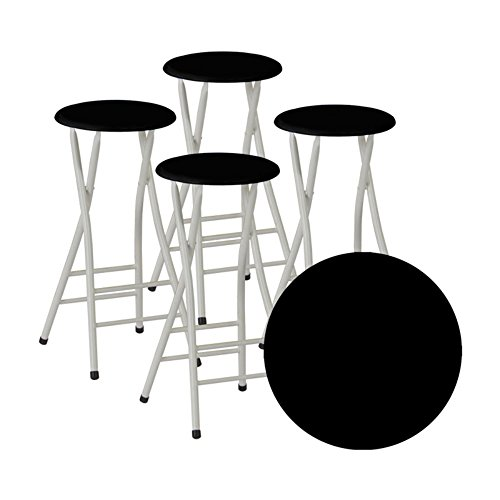 Best Of Times Bar Stools Black Set Of 4 Furniture Chairs