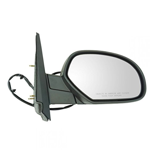- Textured Black Power Heated Side Mirror Passenger Right RH for Chevy Pickup