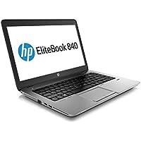 HP EliteBook 840 Notebook PC - Intel Core i5-4200U 1.6GHz 8GB 180 SSD Webcam Windows 10 Professional (Certified Refurbished)