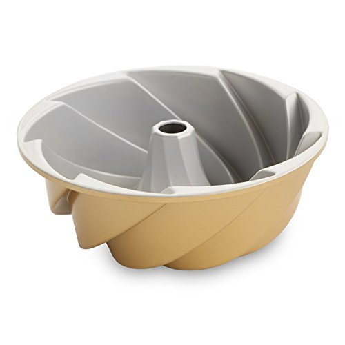 Nordic Ware 80677 Heritage Bundt Pan, One, Gold
