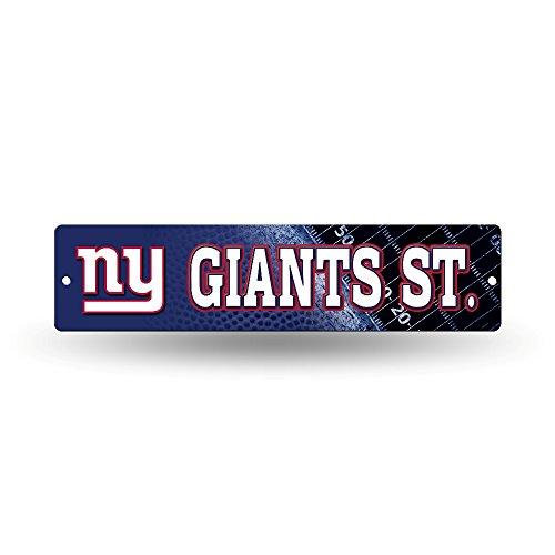 NFL New York Giants High-Res Plastic Street Sign