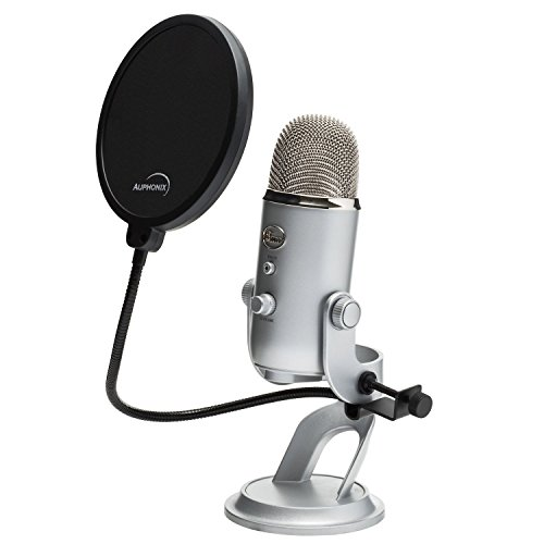 Premium 6-inch Pop Filter For Blue Yeti Microphone by Auphonix - Image 3