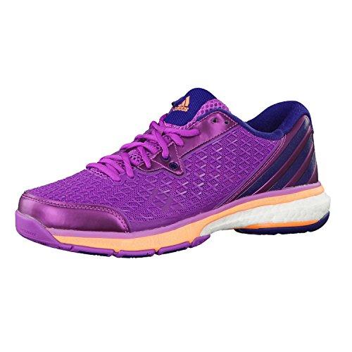 Adidas B40808, Damen Volleyballschuhe lila / blau / orange