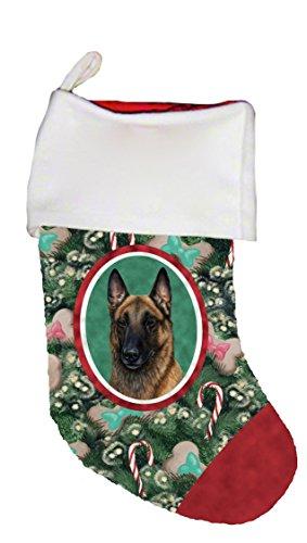 Best of Breed Belgian Malinois Dog Breed Christmas Stocking
