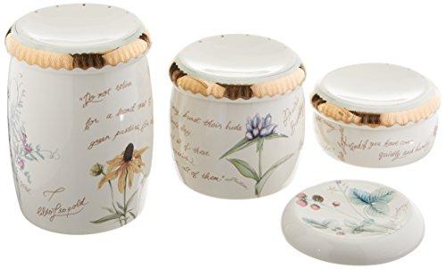 Kohler CTRTOP Acc Set Prairie Flowers Biscuit Countertop Accessories