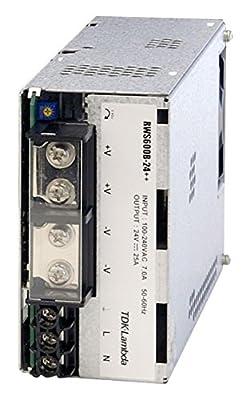 Tdk Lambda Rws-600b-24 Ac-dc Conv, 1 O/p, 24v, 25a, 600w