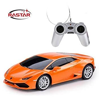 Licensed Lamborghini Huracan LP610-4 RC Car 1:24 Scale Rastar RTR (Colors May Vary) Authentic Body Styling