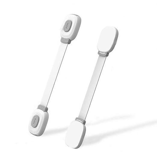 Candados de doble acción: cerraduras de seguridad para bebé, a ...