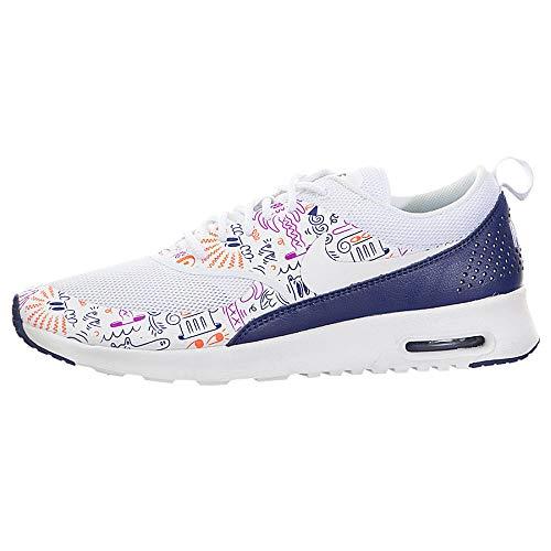 NIKE Air Max Thea Print 599408-104 Ladies Footwear White Womens Trainers Sneaker Shoes Size: EU 36.5 US 6