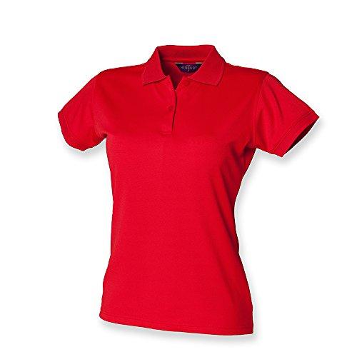 Henbury Ladies Coolplus?? Polo Shirt M Classic Red