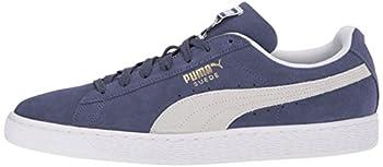 Puma Suede Classic Sneaker, Blue Indigo White, 9.5 M Us 4