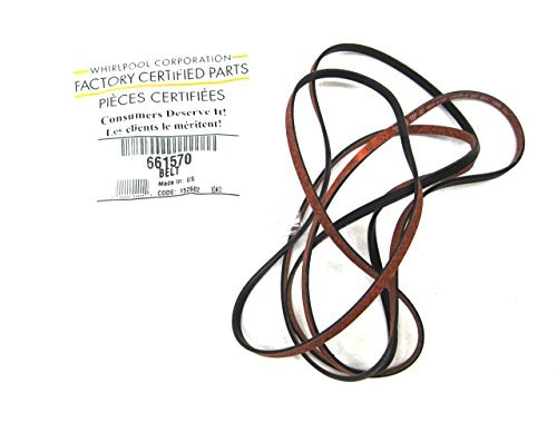 661570V Whirlpool Dryer Belt Genuine OEM Kenmore 90 Series AP5983729 3387610 3389728 3393999 661570