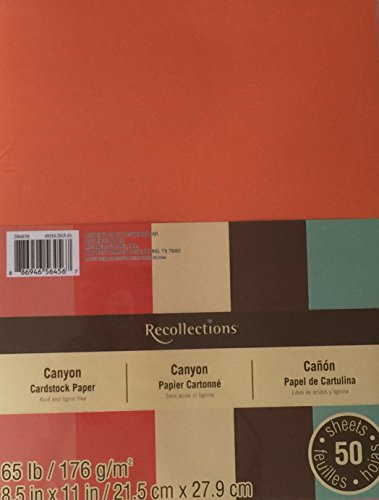 Canyon Greeting Cards - Recollections Cardstock- Canyon - 8.5 X 11