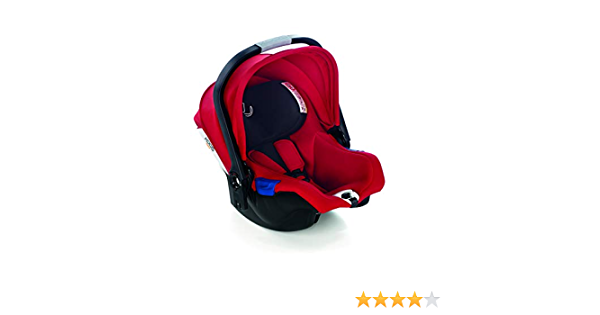 Color Rojo Jan/é iKoos Portabeb/é Grupo 0+ de 40 a 83 cm. Compatible con Todos los Chasis Jan/é Anteriores a 2018 con Reductor