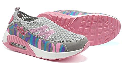los Plataforma Gris Verano NEWZCERS Transpirable oras de Se del La Camuflaje Zapatos Las del Aptitud en Resuelve Deslizar de la la HHARwvnFq