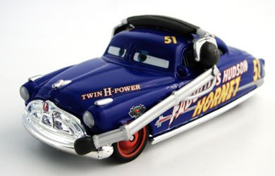 Disney / Pixar CARS Movie 155 Die Cast Car Series 4 RaceORama Pit Crew Member Fabulous Hudson Hornet