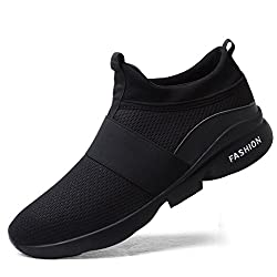 UTENAG Men's Athletic Running Shoes Sports Walking Fitness Casual Mesh Lightweight Breathable Sneakers