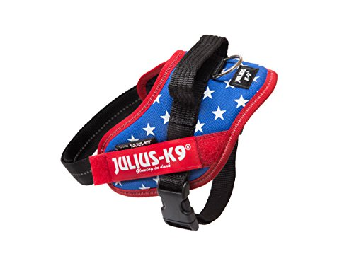 Image of Julius-K9 IDC-Power Harness with Illuminated Velcro Patches, Ameri-Canis, Size: Mini/49-67 cm