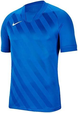 NIKE(ナイキ) メンズ チャレンジ III S/S ジャージ ゲームシャツ スポーツウェア プラクティスシャツ 半袖 Tシャツ bv6703-M-463