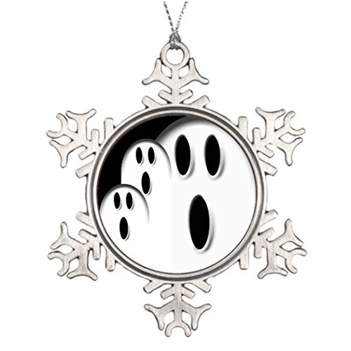 101 Dalmatian Costume Ideas (Metal Ornaments Xmas Trees Decorated Ghost Costume Idea Halloween)