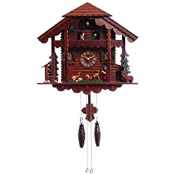 Kassel™ Cuckoo Clock with Multiple Moving Figures