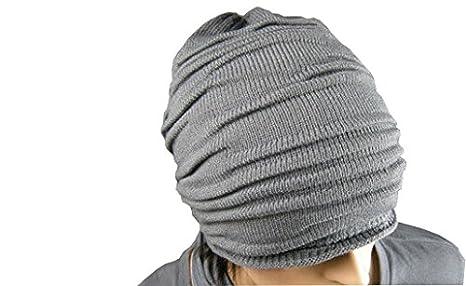 28dd9f49a33 Modo Vivendi Winter Wrinkle Knitted Cap Ski Slouch Hip-hop Beret Beanie  Baggy Crochet Cap