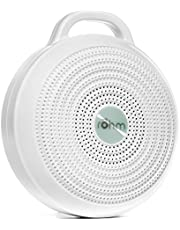 Marpac Rohm Portable White Noise Machine for Travel | 3 Soothing, Natural Sounds with Volume Control | Compact Sleep Therapy for Adults & Baby | USB Rechargeable | Lanyard for Easy Hanging