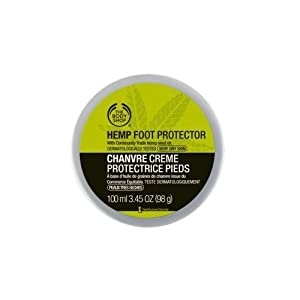 The Body Shop Hemp Foot Cream Protector For Very Dry Skin With Hemp Seed Oil 100ml