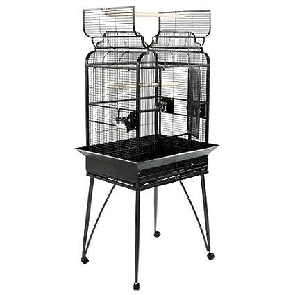 Small Victorian Dome Top Bird Cage Color: Platinum A&E Cage EPAE-B-2217/P