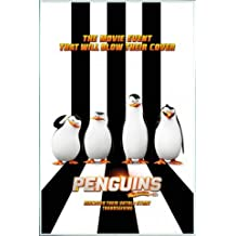 1art1 The Penguins of Madagascar Poster and Frame (Plastic) - One Sheet (36 x 24 inches)