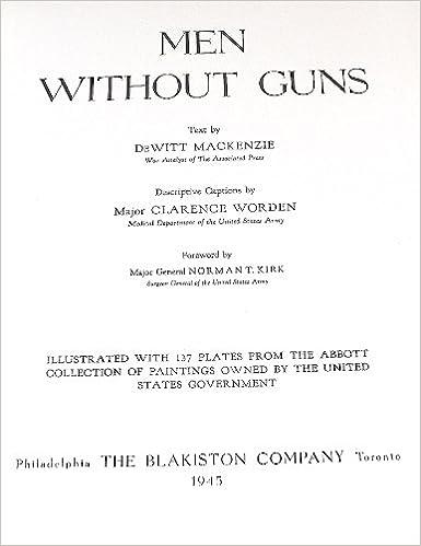 Télécharger des manuels pour ipad gratuitement Men Without Guns B0007DWM8S PDF