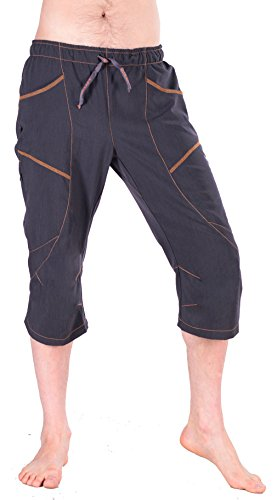 """Ucraft """"Xlite Rock Climbing, Bouldering and Yoga Knickers. Lightweight, Stretching, Breathable (412-M-Graphite)"""