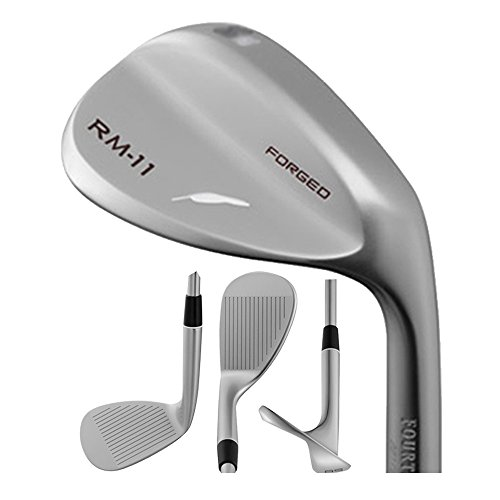 Fourteen RM-11 Forged Nickel Chrome Wedge Loft: 56 - Bounce: 8 : Right, True Temper Dyamic Gold Steel (Wedge) by Fourteen