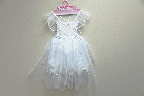 Jason Party Girls' Princess Dress White 4-6 years (Jason Fancy Dress)