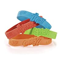 Fantastic Faith Rubber Bracelets (2 dz)