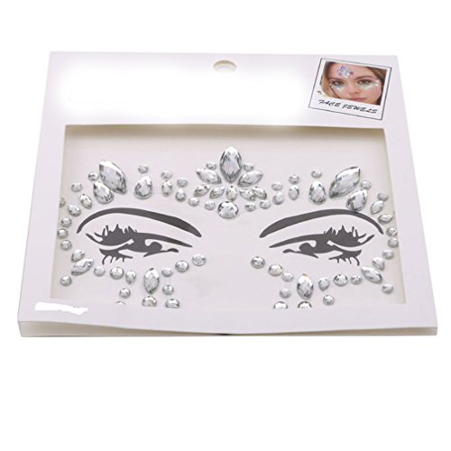 SONGLIN Party Eye Tattoo Stickers Diy Eyebrow Face Body